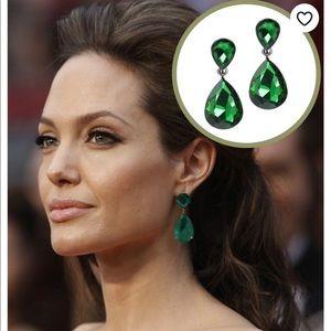 Kenneth Jay Lane Emerald Earrings.